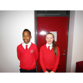 Head Boy and Girl for April