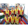 P3 modelling theri new HI VIs Jackets.