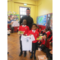 Fairtrade t shirt winners