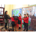 Our musicians performed with Miss Power