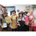 P5 to P7 Fantastic home made costumes