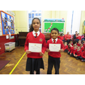 Creative writing winners