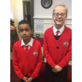 Head Boy and Girl for January