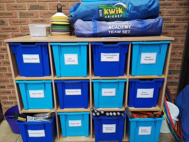 Storage of Huff & Puff updated by the School Council