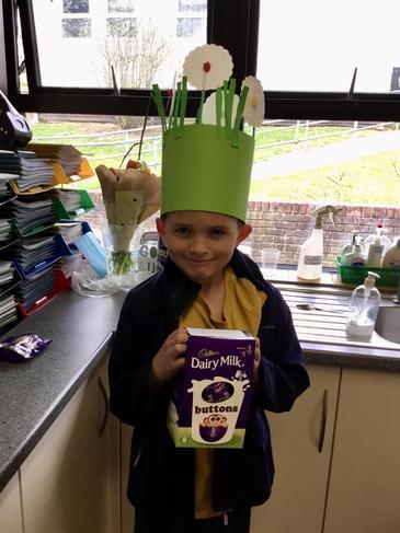 Our class Easter egg winner!