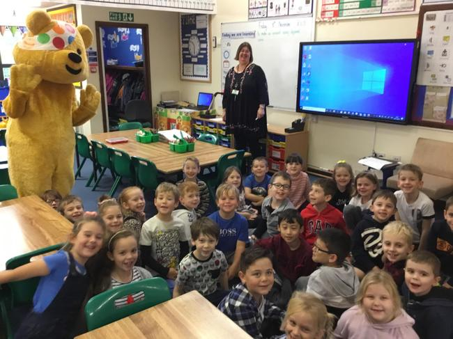 Pudsey Visits Year 2