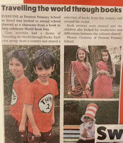 Newspaper coverage shared with our community