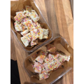 Beau has made some of Mrs Sherry's unicorn fudge.