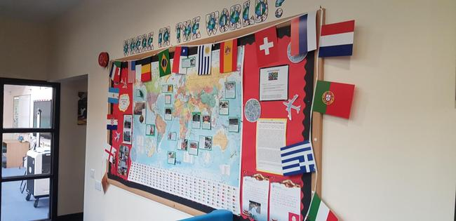 KS2  News around The World Board 1