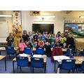 Pudsey Visits Hazel Class