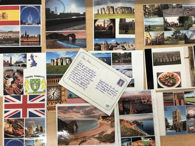 Postcards to Spain