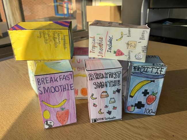 Year 6 packaging project