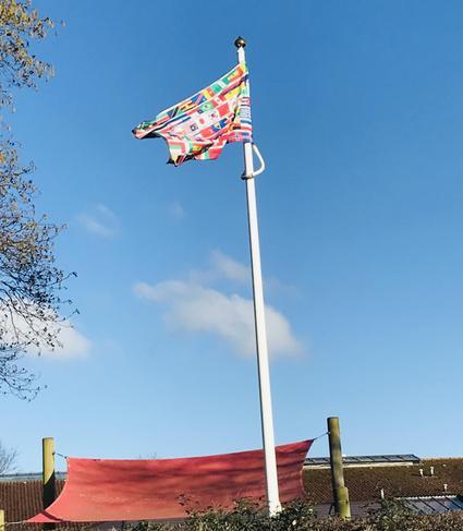 Flying our International Flag