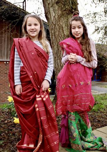 Year 4 pupils India