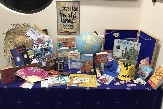 Our WBD display