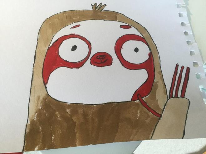 Howdy! I am Will's sloth!