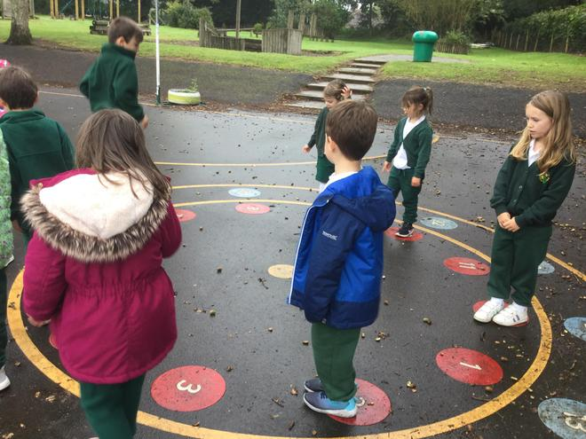 Building teamwork whilst counting in twos!