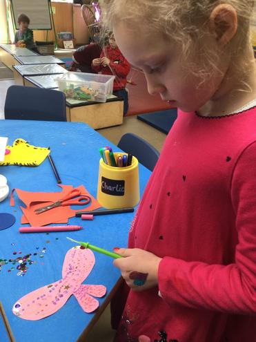 Making fairy wings