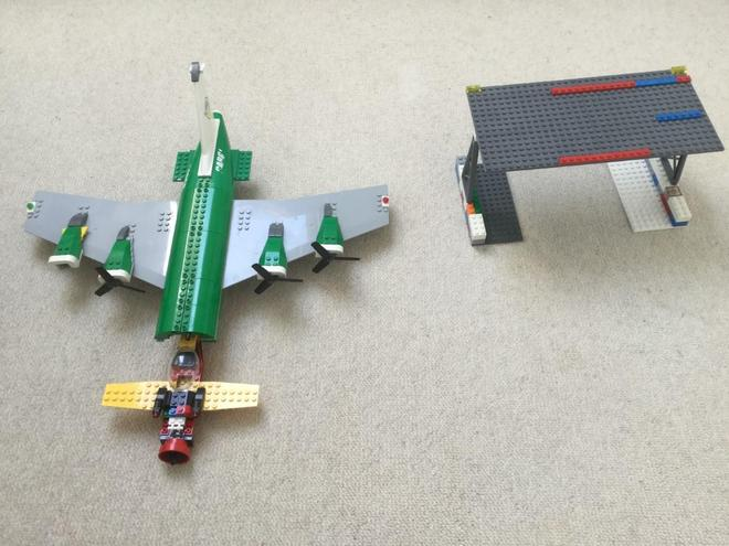 Will's Lego creation