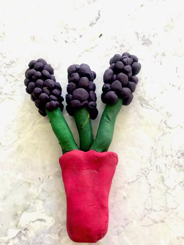 Lavender clay