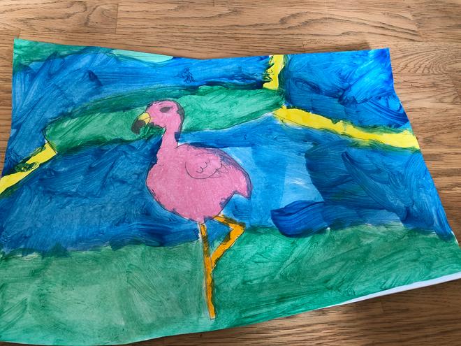 Flamingo by Jack