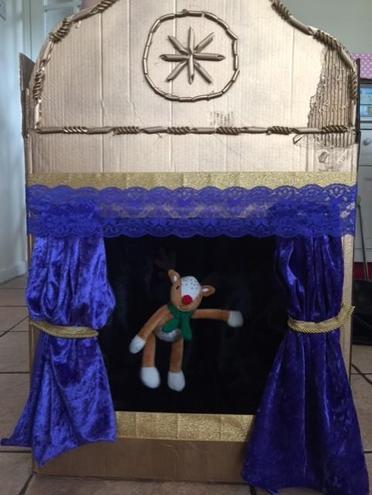 It's a puppet theatre!