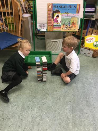 We are building towers that are the same.