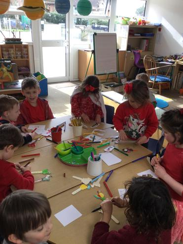 Puppet workshop with Year 1's