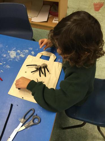 I am making a spider.