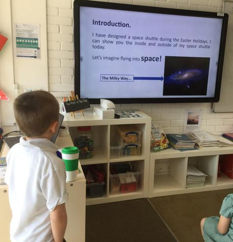Designing a space shuttle!
