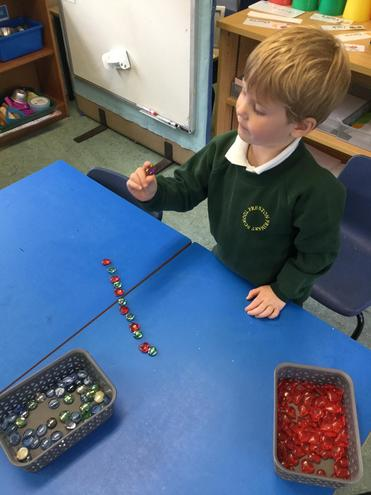I am making a a repeating pattern with hearts and gems.
