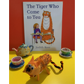 The Tiger Who Came to Tea by Hetty