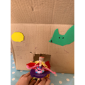 Peg Doll Fairy House by Tilly