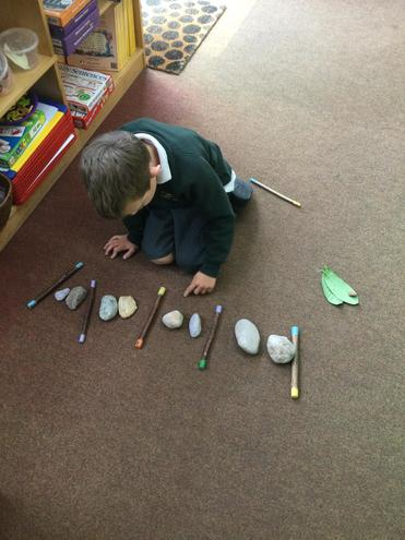 Making repeating patterns.