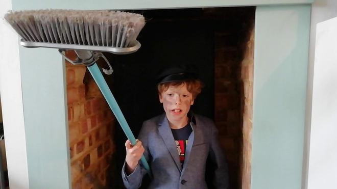 Meet Jimmy the chimney sweep!