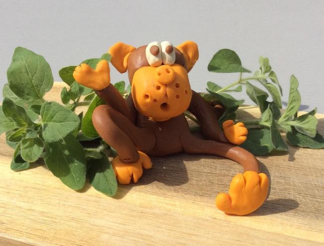 Lola's cheeky monkey!