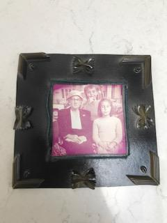 Scarlett's pasta and paint Victorian Frame