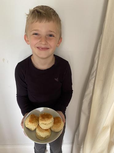 Celebration scones!