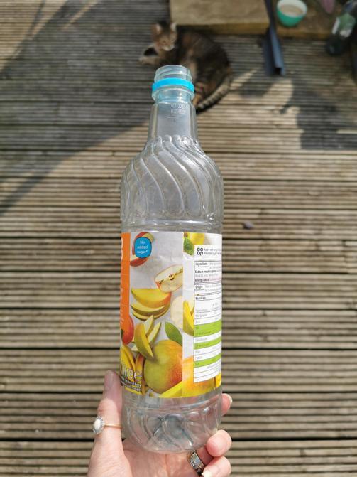 Take a plastic bottle
