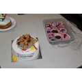 The cakes ...