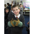 Manual dexterity challenges with 'space gloves'.
