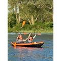 Josh kayaking...