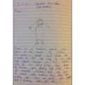 English Journal - a character description