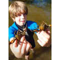 Charlie and his crayfish