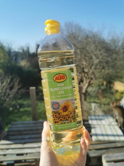 Top up your bottle with oil