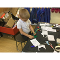 Making Brown Bear  story puppets