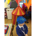 Being a clown in the Circus role play