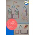 Build a castle using straws or sticks