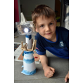 Yann created a fabulous lighthouse.