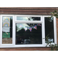 Benji's VE day decorations